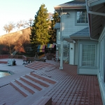 Wood deck replacement Danville PICT0620