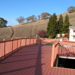 Wood deck replacement Danville