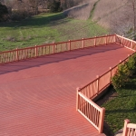 Wood deck replacement Danville