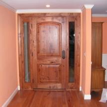 New front door installed by CWI contractor in Danville