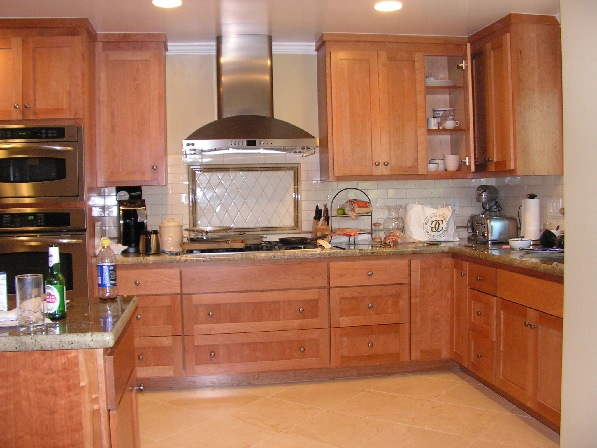 Kitchen Remodel With Custom Cabinets By CWI General Contractor