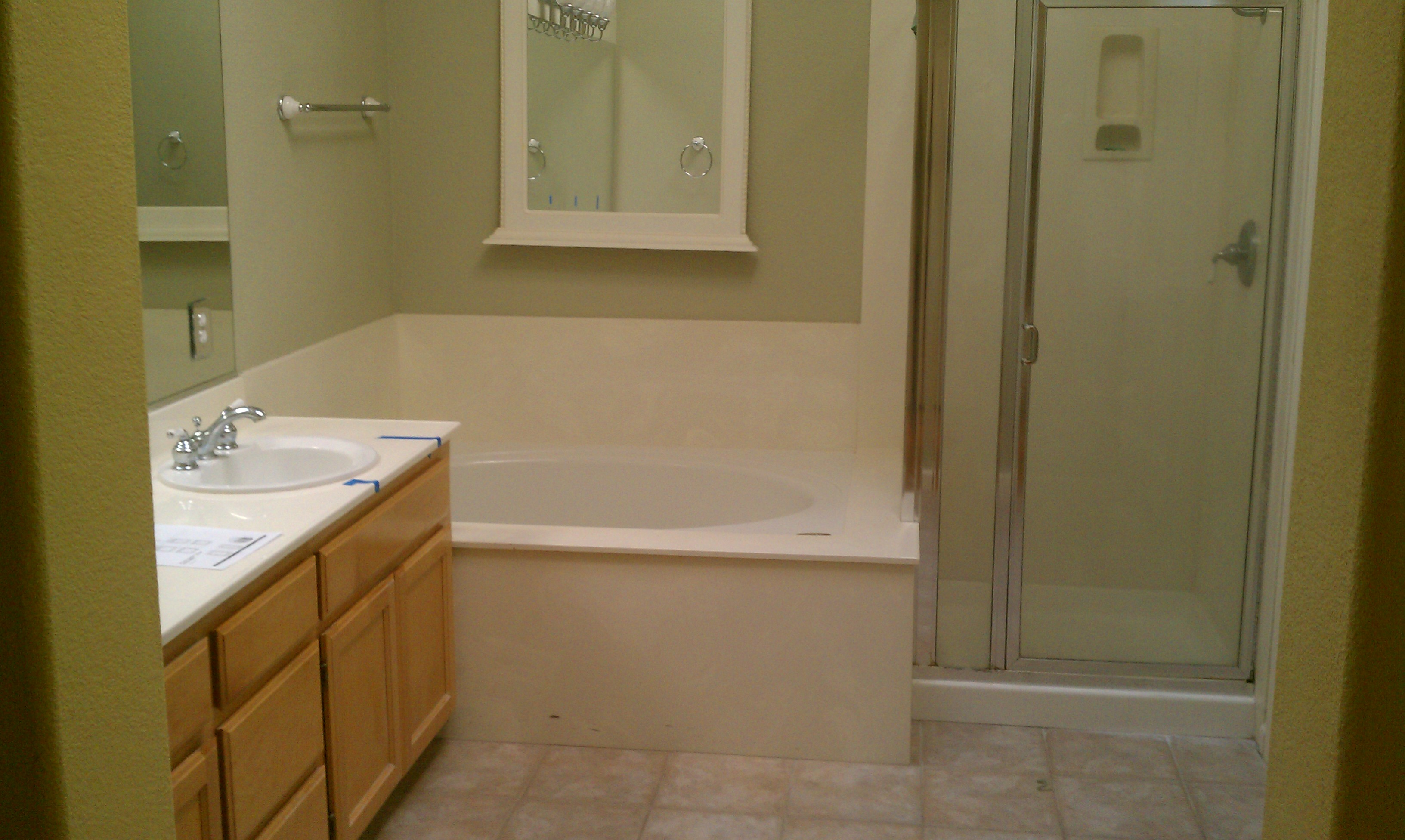Bathroom Remodel By CWI General Contractor In Livermore - 3 piece bathroom remodel