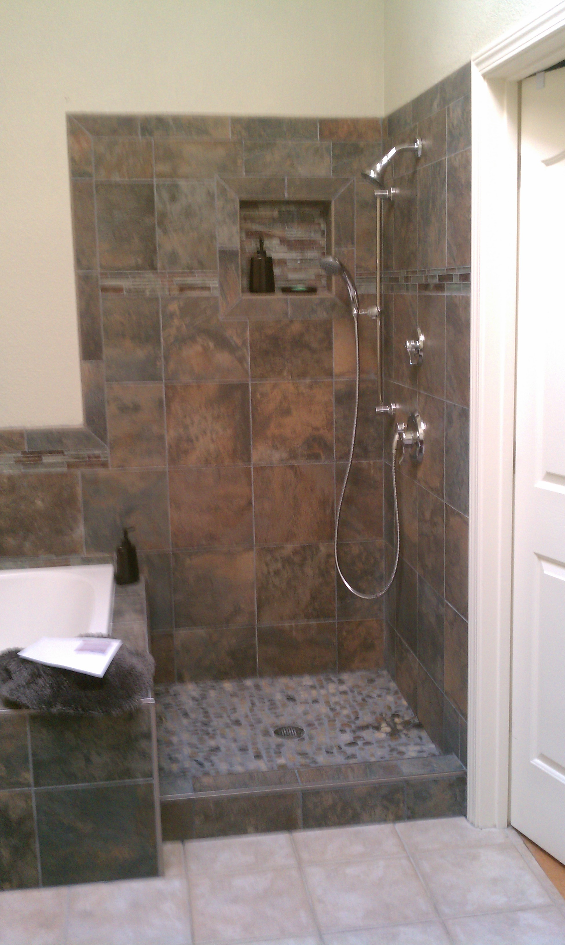 Bathroom remodel by cwi general contractor in livermore - General contractor bathroom remodel ...