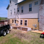 Exterior home remodeling by CWI general contractor Livermore