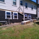 CWI general contractor completed exterior remodeling