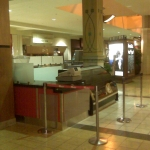 Valley Fair Mall counter by CWI Livermore contractor