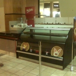 Valley Fair Mall counter by CWI contractor in Livermore
