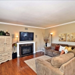 Living room renovation in San Ramon by CWI general contractor