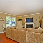 Living room remodel in San Ramon by CWI general contractor