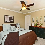 Master bedroom renovation in San Ramon by CWI contractor