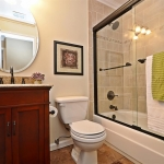 Bathroom renovation in San Ramon by CWI general contractor